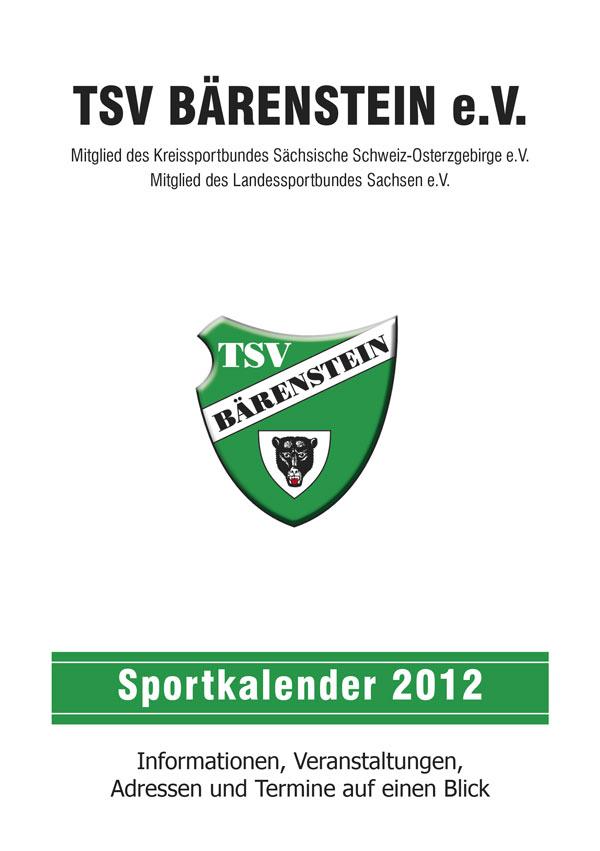 Sportkalender 2012